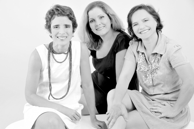 Sheyla Camargo, Fanny Cavalcanti e Fabiola Pimentel